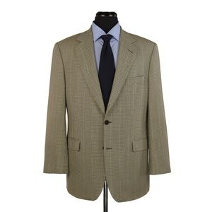 Brooks Brothers Wool Sport Coat Multi-Color 42R
